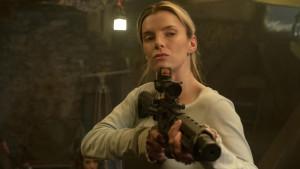 "Betty Gilpin, impressionnante, dans ""The Hunt"" de Craig Zobel (2020)"
