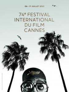 L'affiche officielle de la 74e édition du Festival international du film de cannes.